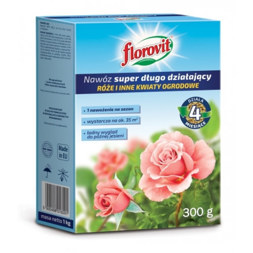 FLOROVIT удобрение длительного действия для роз и других цветущих растений